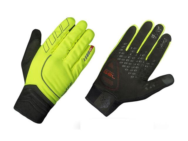 GripGrab Hurricane Hi-Vis Gloves Fluo Yellow